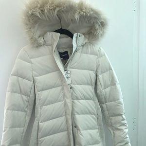 Express white coat